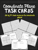 Coordinate Plane Task Cards