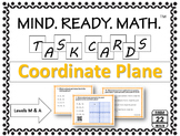 Coordinate Plane Task Cards {All Quadrants}