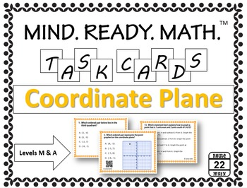 Coordinate Plane Task Cards {All Quadrants}