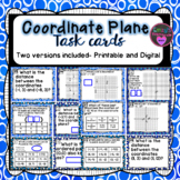 Coordinate Plane Task Cards (SOL 6.11)