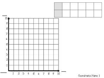 Coordinate Plane Template by The LEAP Ladyz | Teachers Pay Teachers