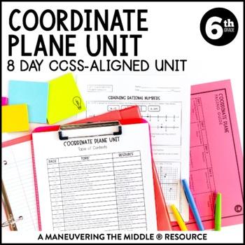 6th Grade Coordinate Plane Unit: 6.NS.6, 6.NS.8