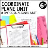 Coordinate Plane Unit: 6th Grade Math (6.NS.6, 6.NS.8)