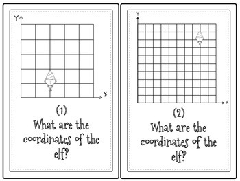 Coordinate Plane: Use Ordered Pairs to Help Santa Track His Elves Grade 5