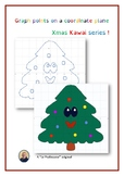 Coordinate Plane : points & graphing for a kawai xmas tree