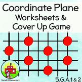 Coordinate Plane BINGO and Worksheets