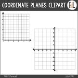 Coordinate Planes (Grids) Clipart