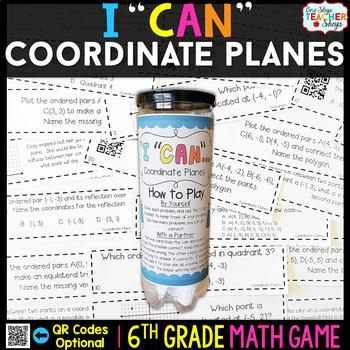 6th Grade Coordinate Planes Game