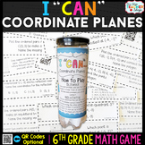 6th Grade Coordinate Planes Game