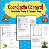 Coordinate Planes/Grids and Ordered Pairs Worksheets