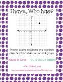Coordinate Planes- I have, Who has Game