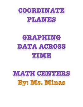 Coordinate Planes Math Centers