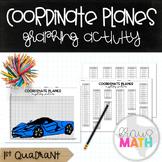 Coordinate Plane Graphing Activity: SPORTS CAR: Aston Martin (1st Quadrant)