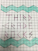 Coordinate Planes Mystery Picture (Third Grade)