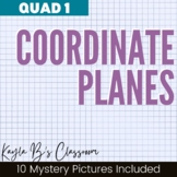 Coordinate Planes Mystery Pictures: Quadrant 1