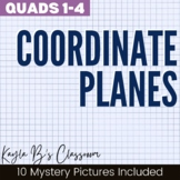 Coordinate Planes Mystery Pictures: Quadrants 1-4