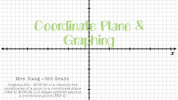 Coordinate Planes and Graphing PPT