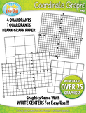 Coordinate Planes and Graphs Clipart {Zip-A-Dee-Doo-Dah Designs}