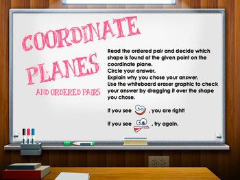 Coordinate Planes and Ordered Pairs .flipchart  (positive number pairs) grid