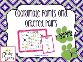 Coordinate Points - 2 Math Games!
