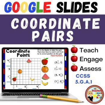 Coordinate Points - GOOGLE INTERACTIVE CLASSROOM!