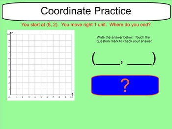 Coordinate Practice - Directions From a Point