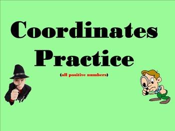Coordinate Practice Problems - Smartboard