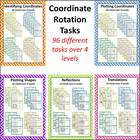 Coordinate Rotation Activites - 88 Tasks