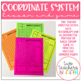 Coordinate System Lesson and Game