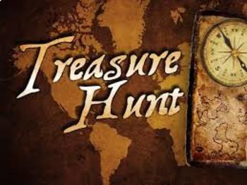 Coordinate Treasure Hunt
