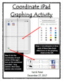 Coordinate iPad Graphing Activity Bundle - both long and s