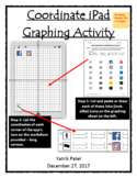 Coordinate iPad Graphing Activity - Long version