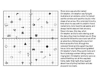 Coordinate plane - Fun activity
