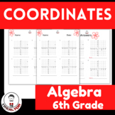Coordinates Math Worksheets Find the coordinates of a plac
