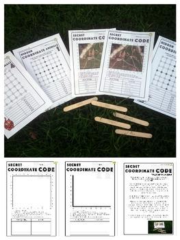 Coordinates Activities: Secret Code and Outdoor Activity