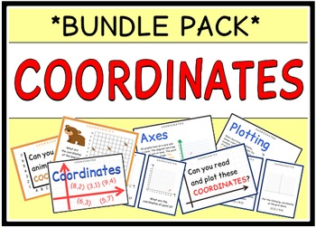 Coordinates (BUNDLE PACK)