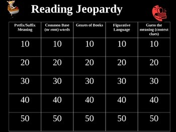 NEW JEOPARDY READING!