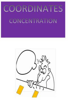Coordinates Concentration
