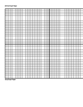 Coordinates Graph Paper