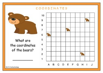 Coordinates Prompts (Lower Grades)