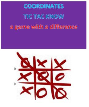 Coordinates Tic Tac Know
