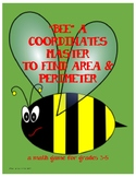 "Coordinates and Area Can ""BEE"" Fun"