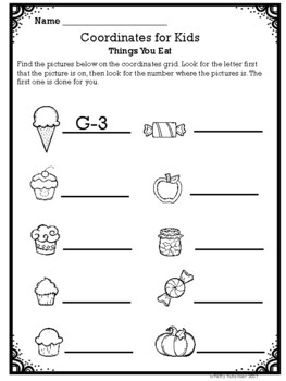 Coordinates for Kids Quick and Easy