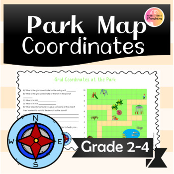 Coordinates on a Park Map (Position & Direction)