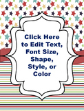 Editable Binder Covers Smooth Colors