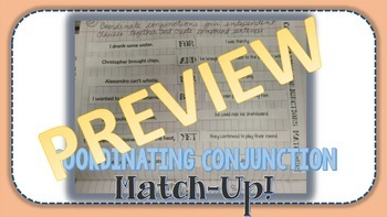 Coordinating Conjunction Match-Up!