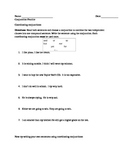 Coordinating Conjunction worksheet