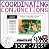 Coordinating Conjunctions BOOM CARDS™ Compound Sentences Distance Learning