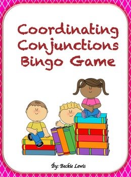 Coordinating Conjunctions Bingo Game