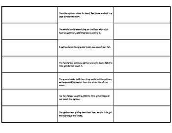 Coordinating Conjunctions Booklet